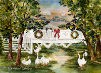 50 - Christmas Duck Pond